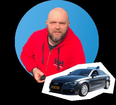 Rijinstructeur Joël Land Damwoude